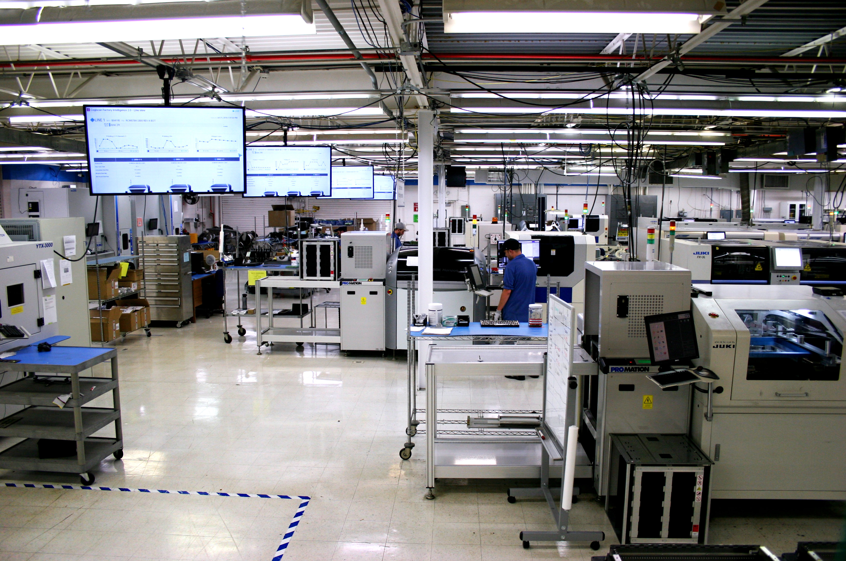 Cogiscan Factory Intelligence system