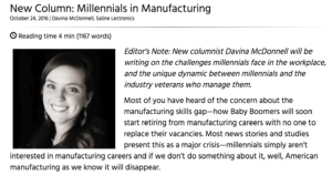 Millennials in Manufacturing with i-connect007