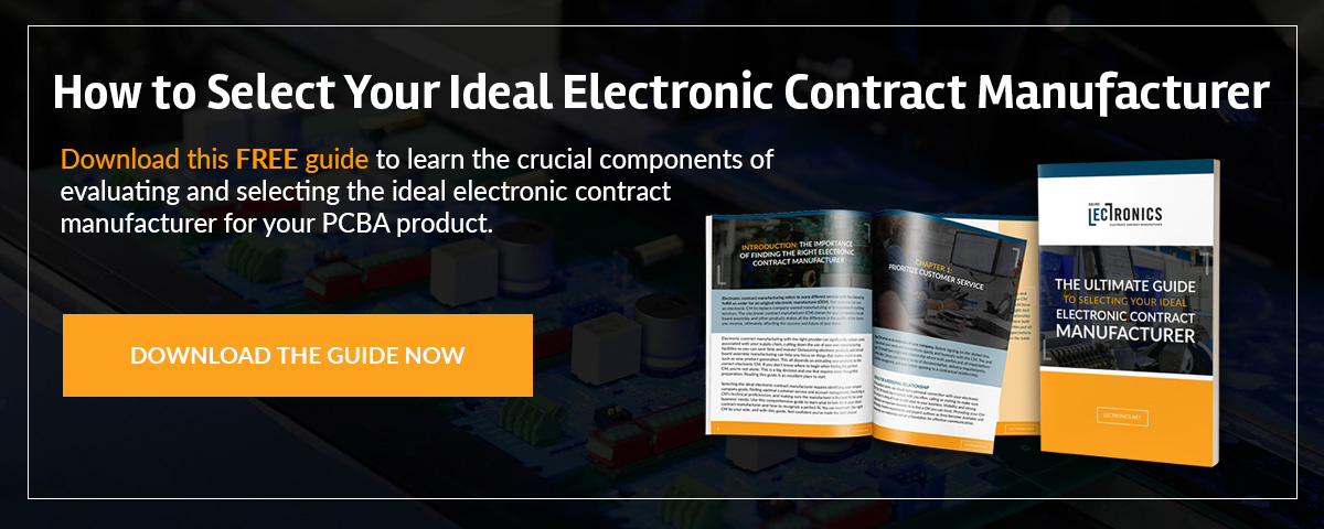 Electronic Contract Manufacturer Guide